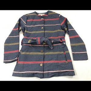 Anthropologie Dolan Piccadilly Striped Jacket S
